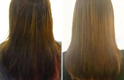 sau khi duỗi tóc cần làm gì